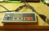 Een NES gamepad omzetten in USB met Arduino