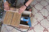 Snijden van hout en metaal met boor
