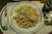 Italiaanse kip en noedels