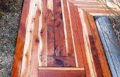Hoe het bouwen van een Awesome stoep met gerecycled hout voor slechts $50.00