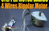 Stepper Motor Basics - 4 draden bipolaire Motor