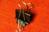 Hoe te maken van een 2 tweede binder clip launcher