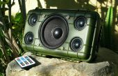 DIY taai Bluetooth Boombox (duurt 20hrs!)