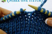 Hoe maak je een steek in breien