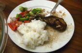 Arabische voedsel 101 - [Tashreeb Dijaj] - kip maaltijd