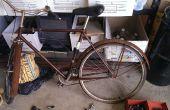 Het herstel van een fiets bij TechShop.