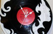 Hoe maak je een aangepaste Vinyl Record klok