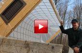 DIY hoepel huis koude Frame voor tuinieren