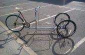 Mislukt: een volledige kantelbare 3 wielen cargo bike