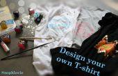 Ontwerp uw eigen T-shirt