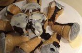 Icecream cupcakes gesmolten