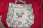 Decoratieve zak voor een doek zak