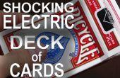 "330 volt ""Shocking"" elektrische dek van kaarten!  -(Elektrische schok kussen Prank)"