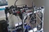 """Hoe maak je een grote 3D-Printer met behulp van een kleinere 3D-Printer - """"Project Locus"""""""