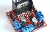 Controle DC en stepper motors met L298N Dual Motor Controller Modules en Arduino