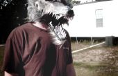 Hoe maak je een weerwolf masker