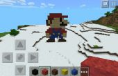 Mario Minecraft pixelart