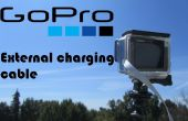 GoPro externe oplaadkabel