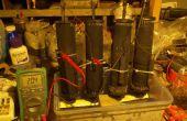 Maak grote refuelable metaal-lucht batterij.