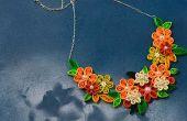 How to Make filigraan bloem kettingen voor meisjes