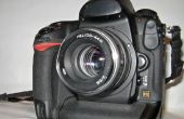 ZENITH Helios 44m (M42) tot Nikon F mount conversie.
