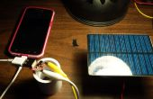 DIY zonne-telefoonlader