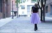 DIY Midi cirkel rok met zakken: geen patroon!