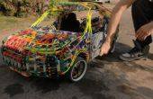 Big Mechanical K'nex Car