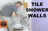 Hoe een douche wand tegel... EN gesneden tegels als een Pro!
