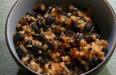 Kruidige zwarte bonen & Bulgur tarwe