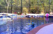 DIY Floating Pool volleybal Net