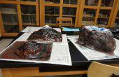 Bouwen van realistisch model vulkanen