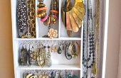 Opknoping sieraden organisator van gebruiksvoorwerp houder