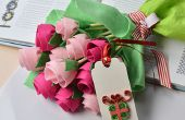 Mother's Day Gift-Hoe maak je een vilten bloemboeket
