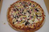 Functie Timeshift Food-Pizza vanaf nul