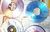 Artistieke ontwerpen op cd's