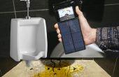 Urinoir Splash gevaar Meter