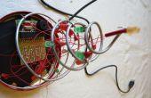 USB-powered LED kerstboom met geluid