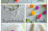 TUTORIAL | DIY Fashion: Neon knoopte T-shirt