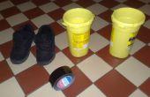 Lage begroting hoge hakken op elke soort schoen