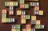 Hoe maak je eigen Pentominoes van alfabet blokken