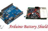 Hoe maak je Arduino batterij Shield