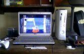 Hoe te spelen van een console op een laptop (alleen NTSC)