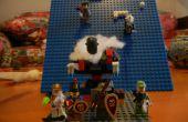 Hoe maak je een Basic Lego artillerie kanon
