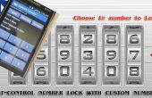 LinKit een BT - nummer Lock met aangepaste nummer