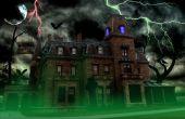 Huis aan spookhuis foto bewerken!