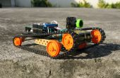 DIY telefoon gecontroleerd FPV Rover (snelle & behendig)