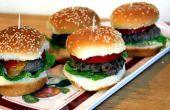 Mini Hamburger schuifregelaars