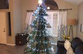 Kartonnen Kerstboom geborgen