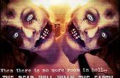 """""""2-hoofd en BRAINDEAD"""" Halloween foto"""